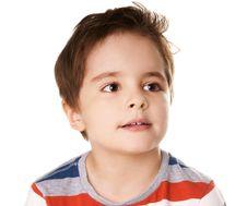 Dreamful Kid Royalty Free Stock Image