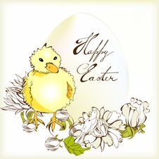 Free Easter Card Stock Photo - 18282200