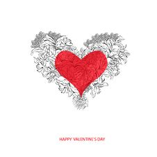 Free Valentine S Day Card Royalty Free Stock Photo - 18282295