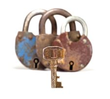 Free Old Key And Locks Stock Photography - 18282472