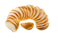 Free Sliced Baguette Royalty Free Stock Photography - 18284607