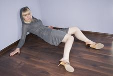 Free Women On A Floor Stock Images - 18284674