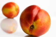 Free Colorful Peach In Close-ups Royalty Free Stock Photos - 18284758