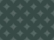 Grey Seamless Wallpaper Pattern Stock Images