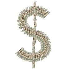 Dollar Symbol Royalty Free Stock Photo