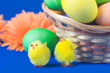 Free Easter Still Life Royalty Free Stock Photos - 18285118