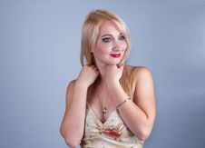 Beautiful Young Lady Royalty Free Stock Photography