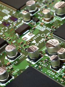 Free Computer Circuit Board Stock Image - 18285981