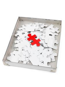 Free Jigsaw Pieces Royalty Free Stock Images - 18286999