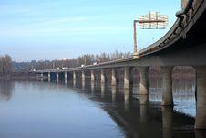 Free Highway I-205 Bridge, Oregon. Stock Images - 18287084