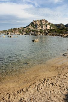 Castelsardo Bay Sardinia Royalty Free Stock Photography