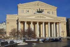 Free Bolshoi Theater, Moscow, Russia Stock Image - 18287491