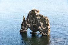 Free Monolith At Sea Stock Photo - 18287550