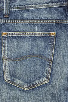 Free Jeans Pocket Royalty Free Stock Photography - 18288107