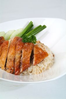 Free Chicken Rice Stock Photography - 18288282