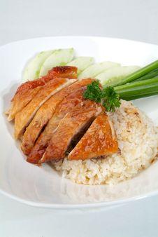 Free Chicken Rice Stock Photo - 18288300