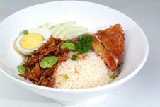 Free Chicken Rice Stock Photo - 18288330