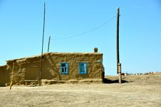 Free Kazakh Hut Stock Image - 18288371