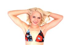 Free Lovely Bikini Girl. Stock Image - 18288561
