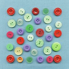 Free Multicolored Buttons Royalty Free Stock Photography - 18288607