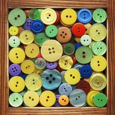 Free Multicolored Buttons Royalty Free Stock Images - 18288639
