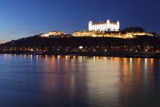 Free Bratislava Castle Stock Photography - 18289172