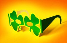 Free St Patrick S Day Glasses Royalty Free Stock Photo - 18289645