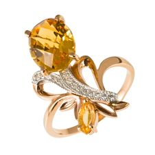 Free Golden Ring With Stones Stock Photos - 18289733