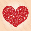Free Abstract Valentine Day Greeting Card Royalty Free Stock Images - 18291869