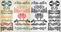 Free Elements Art Nouveau Pattern Stock Photo - 18295140