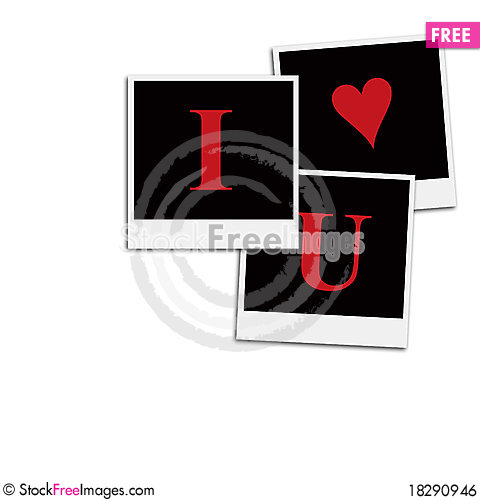 Free Romantic Film Frames Royalty Free Stock Image - 18290946