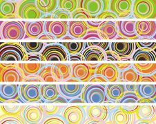 Free Set Of Abstract Decor Banner Stock Images - 18290274