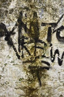 Free Graffiti On An Old House Stock Photo - 18290350