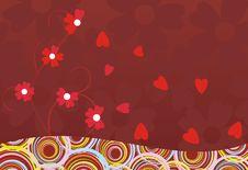 Free Abstract Decor Flower Heart Stock Photos - 18290813