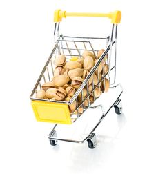 Pistachios In The Shopping Cart