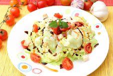 Free Fresh Salad Royalty Free Stock Image - 18291566