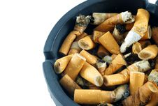 Free Cigarette Butts Stock Image - 18291821