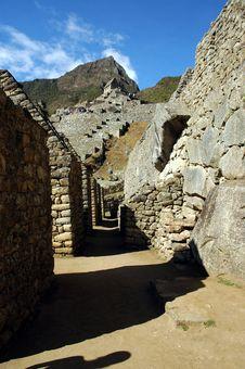 Free Passageways Within Machu Picchu Royalty Free Stock Photography - 18292457