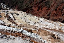 Free Maras Salt Mine Stock Photography - 18292492