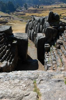 Free Doorway In Sacsayhuaman Ruins Stock Image - 18292521