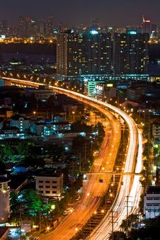 Free Bangkok Highway Royalty Free Stock Image - 18293536