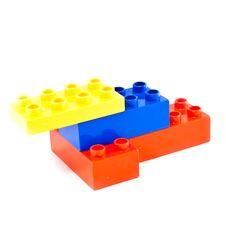 Free Building Blocks Royalty Free Stock Image - 18294086