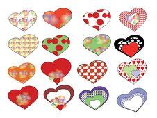 Free Hearts Stock Photography - 18294092