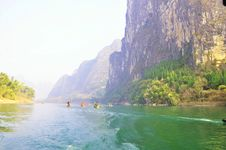Free On The Li River Royalty Free Stock Photography - 18294247