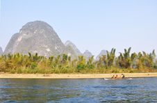 Free On The Li River Stock Photos - 18294383