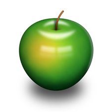 Free Green Apple Royalty Free Stock Photos - 18294398