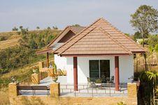 Beach House In Thailand Stock Photos