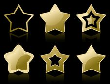Free Icon A Star2 Stock Photography - 18294722
