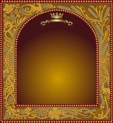 Free Advertising Slavonik Frame Icon Royalty Free Stock Photo - 18295105