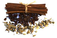 Aniseed And Cinnamon  . Royalty Free Stock Photo